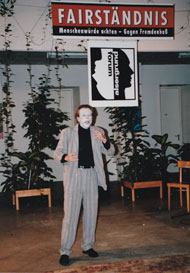 The creature's monologue at the fugitives assylum in Vienna, 1993
